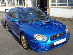 2003 Subaru Impreza 2.0 WRX STi saloon. WR Blue. FSH. Click on pic shown for loads more.