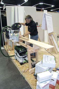 Quick Folding Chop-Saw Stand