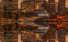 "cedorsey: ""Mirrored Boat Photo Credit: (Matthew Vanderputte) """