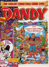 BLIMEY! The Blog of British Comics: Christmas Comics: The DANDY (1998)