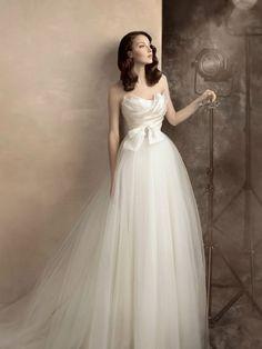 Papilio bridal collection - Romantic strapless wedding dress