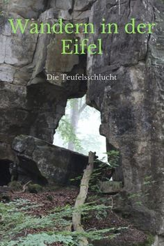 Hike through the Teufelsschlucht - The flying classroom - Hiking in the Eifel - Europe Travel Tips, Travel And Leisure, Asia Travel, Travel Photographie, Couple Travel, Hiking Places, Les Continents, Camping And Hiking, Bushcraft Camping