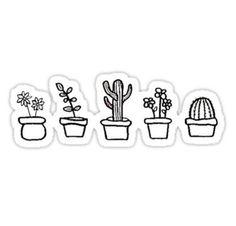 CUTE PLANTS Sticker