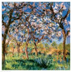 Monet's Spring in Giverny.