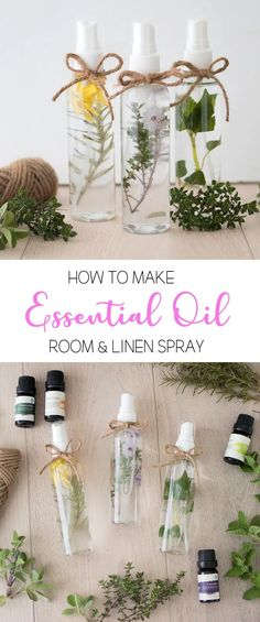 How to Make Essential Oil Room and Linen Spray - Gina Michele