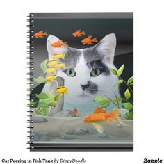 Custom notebook to upload your own Cat photo to.