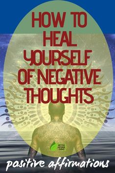 Reprogram your mind to elimininate stress and anxiety using the power of positivity. Reprogramming your mind for positivity can improve the way you feel. Removing Negative Energy, Spiritual Meaning, Spiritual Path, Power Of Positivity, Holistic Healing, Negative Thoughts, Encouragement Quotes, Stress And Anxiety, Positive Affirmations