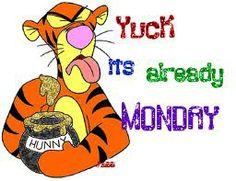 Yuck! Monday