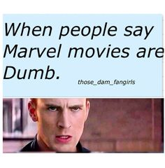 Yeah, you'd better not say Marvel movies are dumb. Marvel Fan, Marvel Heroes, Marvel Avengers, I Understood That Reference, Marvel Movies, Marvel Cinematic Universe, A Team, Nerdy, Fangirl
