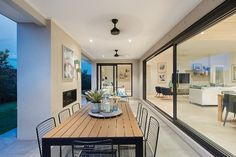 New Home Designs To Build In Melbourne Livable Sheds, Alfresco Designs, New Classical Architecture, Single Storey House Plans, Porter Davis, Timber Flooring, New Home Designs, White Walls, Vermont