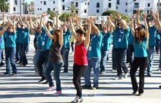 Flash Mob - Creativando - Actividad de Team Building de Exteriores.  #TeamBuilding #Actividad #FlashMob #Eventos #Creativando Team Building, Flash, Monitor, Fitness, Teamwork, Exercises, Activities, Events, Searching