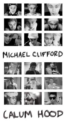 #MICHAELCLIFFORD #CALUMHOOD #5SECONDSOFSUMMER #5SOS