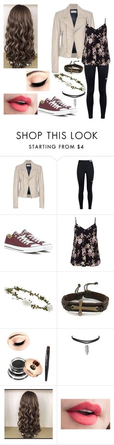"""Untitled #270"" by kayladallas7 on Polyvore featuring Balenciaga, NIKE, Converse, Miss Selfridge and Accessorize"