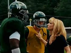 The Blind Side. I will be Sandra Bullock.
