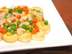 Egg tofu with mixed vegetables by Nasi Lemak Lover (http://nasilemaklover.blogspot.c, via Flickr