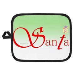 Santa Wisdom Potholder