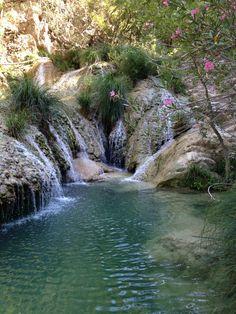 ~Polylimnio waterfall & lakes in Messinia (Peloponnese)~  #greece  #messina  #polyimnio