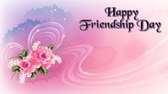 Happy Friendship Day Flower Card Friends are the ones we select among the crowd. Send them these beautiful Friendship Day Cards and say Happy Friendship Day. Happy Friendship Day Date, Friendship Day Wallpaper, Happy Friendship Day Images, Friendship Day Greetings, Happy Friendship Day Quotes, Fathers Day Quotes, I Love My Friends, Wishes Messages, Birthday Wishes