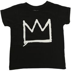 Little Eleven Paris Crown Basquiat SS Tee