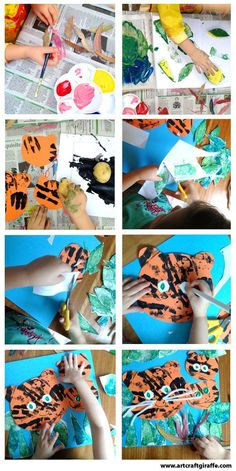 Tigers in the #jungle- by The #Art & Craft Giraffe