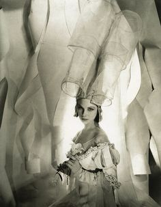 """Tilly Losch as The Nun, costume designed by Oliver Messel in """"The Miracle""""…"""