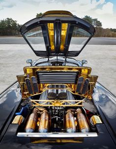 F1 engine bay