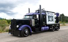 peterbilt, truck custom