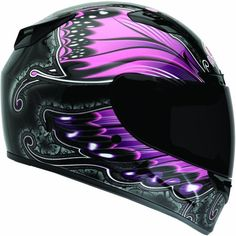 Bell Monarch Women's Vortex Street Bike Motorcycle Helmet - Pink / Large