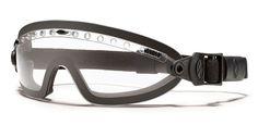 Smith Optics Boogie Sport Tactical Goggles Black Strap Clear Mil-Spec Lens NEW #SmithOptics