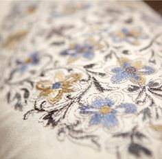 We've handpicked a collection of fresh, fashion-forward and for you to shop. These uncommon feature motifs and a wealth of and texture that offer layer upon layer of style. This featured fabric is Sprouting Vine in Bluebell. Click through for more! Applique Fabric, Embroidery Applique, Robert Abbey Lighting, Uncommon Threads, Drapery, Wealth, Fashion Forward, Upholstery, Fabrics