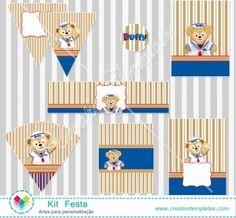 Kit Festa Urso Duffy mod:117