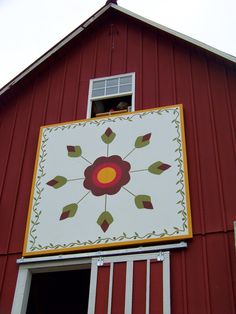 one of many barn quilts listed on this website. It's the Kansas Flint Hills Quilt Trail . Barn Quilt Designs, Barn Quilt Patterns, Quilting Designs, Art Pass, Painted Barn Quilts, Barn Signs, Old Barns, Amish Barns, Barn Art