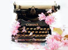 Typewriter published in 101Woonideeën, 2012 july. Photographer: Georgianna Lane