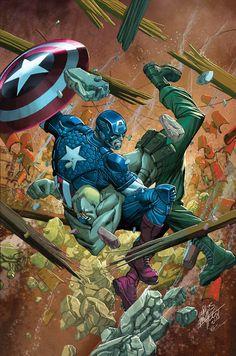 Captain America #13 - Carlos Pacheco