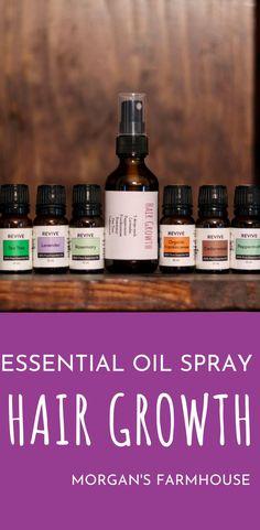 Homemade Essential Oil Spray for Hair Growth