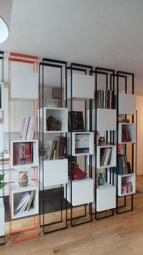 boîtes suspendues - contemporain - Salle de Séjour - Other Metro - Gaëlle Cuisy + Karine Martin, Architectes dplg