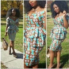 Source Fashion African print dress style, dashiki african dress clothing, two piece african dress with wax fabric M2855 on m.alibaba.com