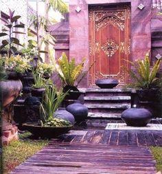 Inspiration for a Bali style garden
