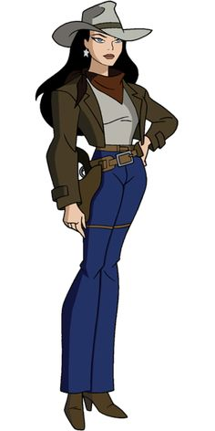 JLU Old West Wonder Woman by Alexbadass on DeviantArt Batman Wonder Woman, Wonder Woman Comic, Wonder Women, Dc Animated Series, Dc Comics Girls, Fantasy Female Warrior, Justice League Unlimited, Bruce Timm, Cartoon Girl Drawing