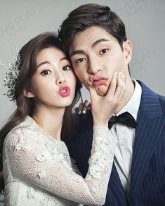 Korean Wedding Photography, Wedding Couple Poses Photography, Couple Photoshoot Poses, Pre Wedding Poses, Wedding Picture Poses, Pre Wedding Photoshoot, Marie, Studio, Pre Wedding Photography