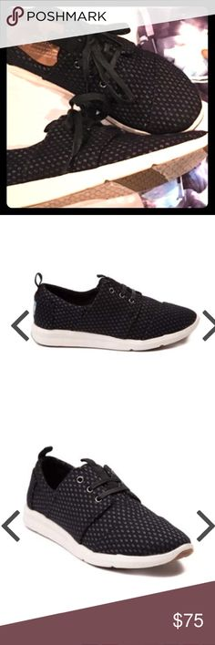 Women's TOMS Del Rey Casual Shoe Product Details  The new Del Rey Casual Shoe from TOMS offers modern features without compromising classic style. The Del Rey sports a woven textile upper with front lace closure for a secure fit, breathable lining, and durable rubber outsole for shock-absorbing traction.   Features include: > Breathable canvas upper > Lace closure offers a secure fit > Molded EVA midsole for lightweight support and comfort > Rubber outsole provides flexible traction TOMS…