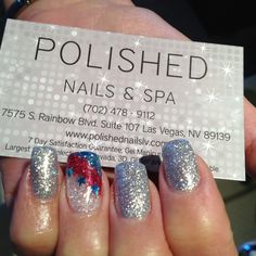 July 4th Nails!  @Rachel Campbell