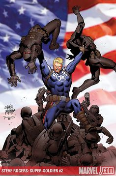Carlos Pacheco - Steve Rogers, Super Soldier