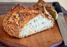 Irish Cheddar and Herb Soda Bread - totally easy to make and absolutely delicious!