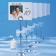 DIY Table Number Stands Kit for Wedding Reception Tables