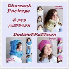 CROCHET PATTERN Discount sets pattern crochet by NedinetPattern