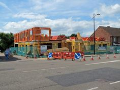 Rebuilding at former Swiss Cottage Site full steam ahead