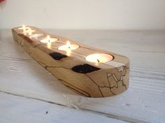 Finest Woodworking Information At Your Fingertips - Woodworking Finest Tea Light Candles, Tea Lights, Wood Projects, Woodworking Projects, Wooden Candle Holders, Beautiful Candles, Candle Stand, Wood Shelves, Tea Light Holder