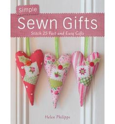 Employing modern fabrics, sewing, applique, patchwork and stitchery, this title presents 25 sewn gifts that are quick to make. It also includes gifts for friends, family and home, and Christmas gifts.