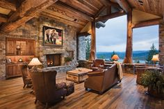 Stock, Custom, or Somewhere in Between? | News | Log Cabin Homes